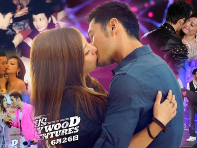 Triệu Vy và những nụ hôn gây tranh cãi khiến dư luận dậy sóng