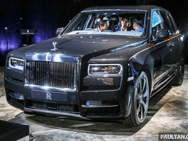 Cận cảnh SUV sang trọng Rolls-Royce Cullinan đầu tiên tại Việt Nam - 10