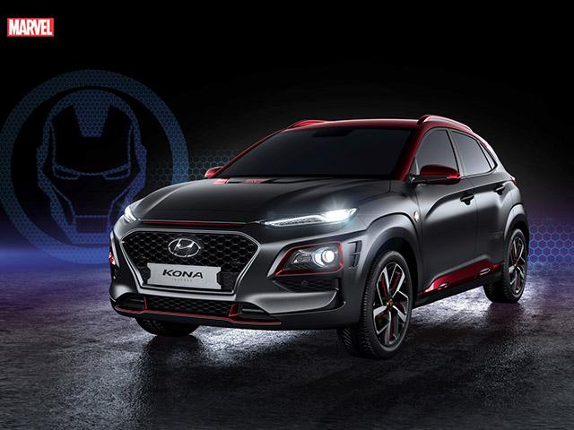 Hyundai Kona bản đặc biệt Iron Man sắp được bán ra với giá 828 triệu đồng