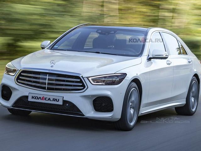 Lộ ảnh đồ hoạ của Mercedes-Benz S-Class thế hệ mới