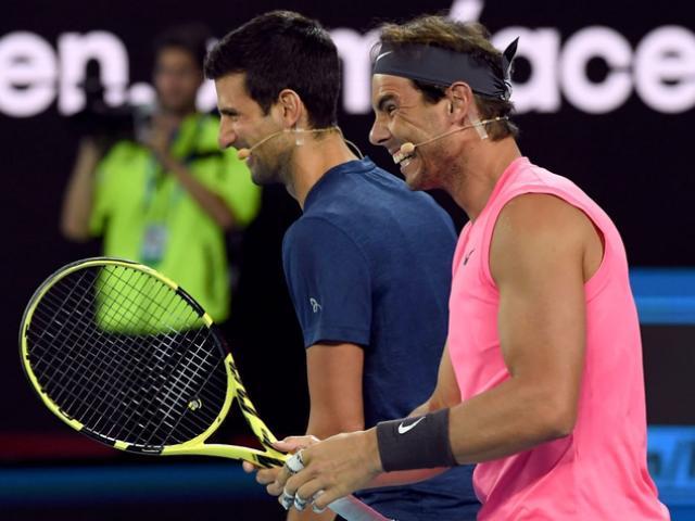 "Federer, Nadal tranh ""mưa kỷ lục"": Vua Australian Open Djokovic có e ngại? - 6"