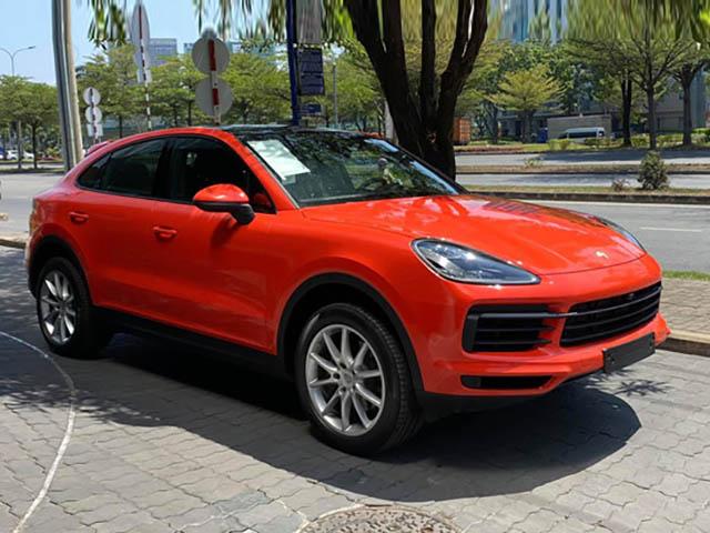 Cận cảnh Porsche Cayenne Coupe 2020 tại đại lý Việt Nam, giá hơn 5 tỷ đồng