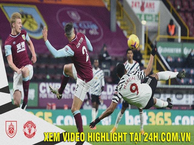 Video Burnley - MU: Pogba rực sáng, độc chiếm đỉnh bảng