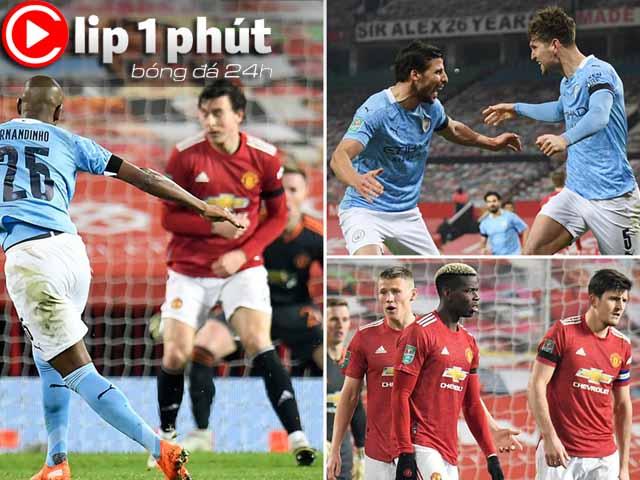 Vì sao MU không lo bị Man City soán ngôi đầu Ngoại hạng Anh (Clip 1 phút Bóng đá 24H)?