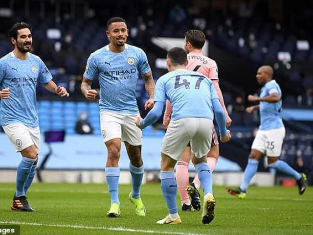 Video Man City - Sheffield United: Bàn thắng quan trọng, toan tính hoàn hảo