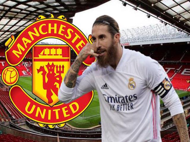 Ramos muốn gia nhập MU: Lương 200.000 bảng/tuần, Solskjaer có đồng ý?