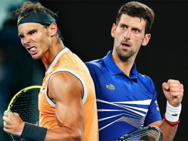 """Nadal dễ thở, Djokovic """"nặng gánh"""""""