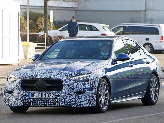 Mercedes-Benz chốt ngày ra mắt C-Class thế hệ mới