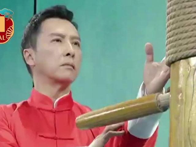 """Chân Tử Đan và Ngô Kinh """"giao đấu"""" đón Tết, trình diễn công phu đỉnh cao"""