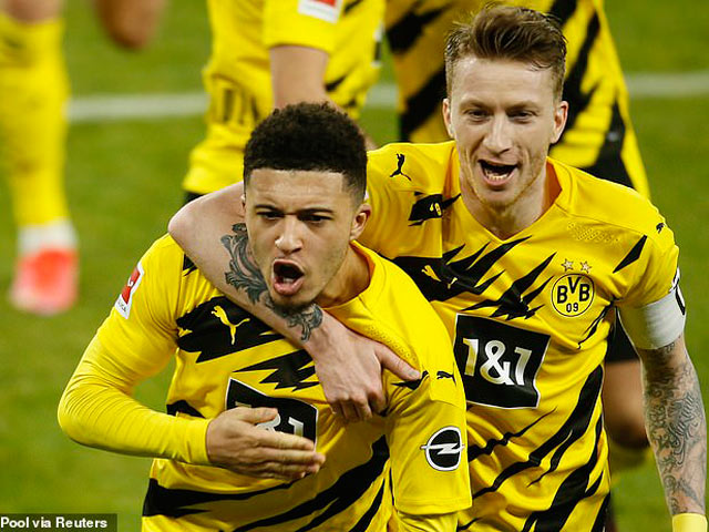 Sancho hồi sinh mạnh mẽ, Dortmund thừa cơ ép giá MU - Real Madrid
