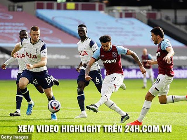 Video West Ham - Tottenham: Lingard rực sáng, Son Heung Min kém may