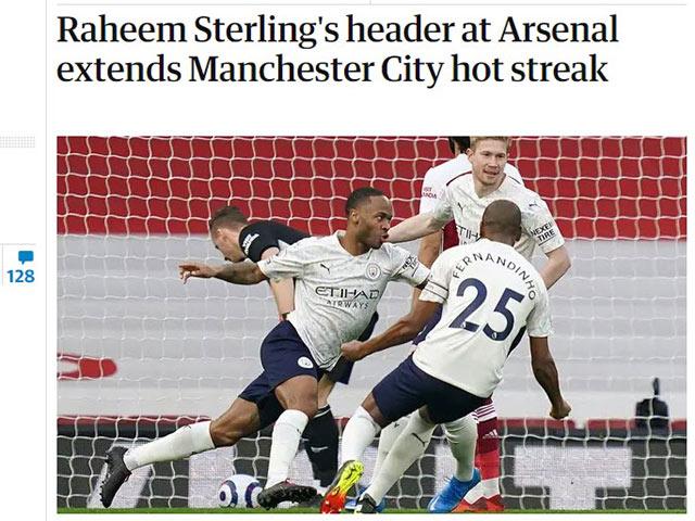"""Man City thắng 18 trận liên tiếp: Báo Anh tin chức vô địch đã """"chốt"""""""
