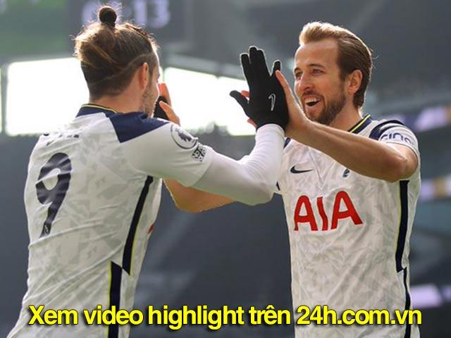 Video Tottenham - Burnley: Mở điểm nhanh chóng, 4 sao tung hoành (H1)