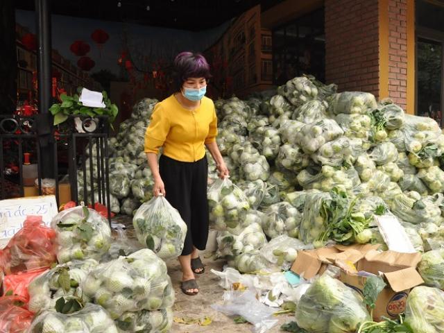 Khốn đốn vì Covid-19, nữ giám đốc đi buôn hoa quả, biến văn phòng thành kho chứa hàng
