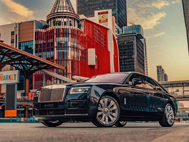 Rolls-Royce Ghost thế hệ mới ra mắt tại Thái Lan, giá triệu đô