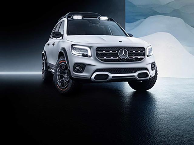 Mercedes-Benz GLB dự kiến sẽ có mặt tại Triển lãm Ô tô Frankfurt 2019 - 8