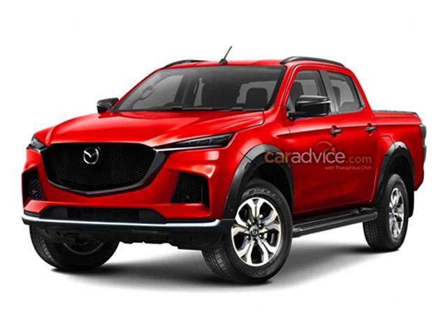 Xe bán tải Mazda BT-50 sẽ sử dụng chung nền tảng với xe Isuzu D-Max