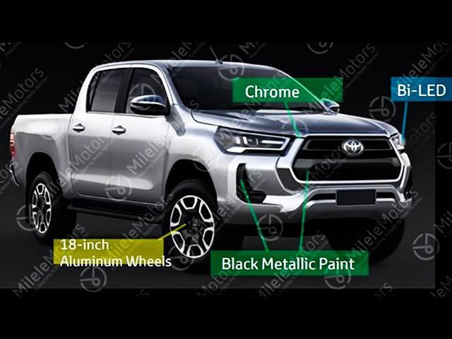 Xe bán tải Toyota Hilux phiên bản nâng cấp sắp được ra mắt