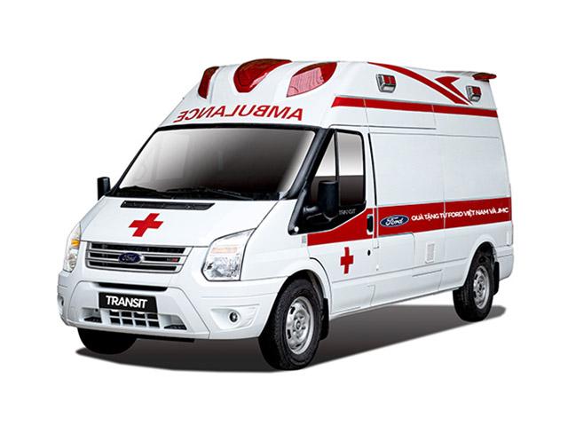 Ford trao tặng xe Transit cứu thương hỗ trợ mùa dịch Covid-19 tại Việt Nam
