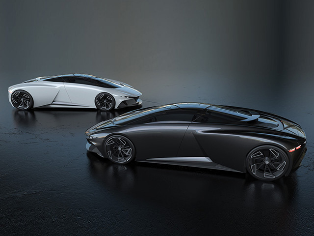 Mazda9 mang thiết kế của tương lai và có thể được trang bị động cơ đặt giữa