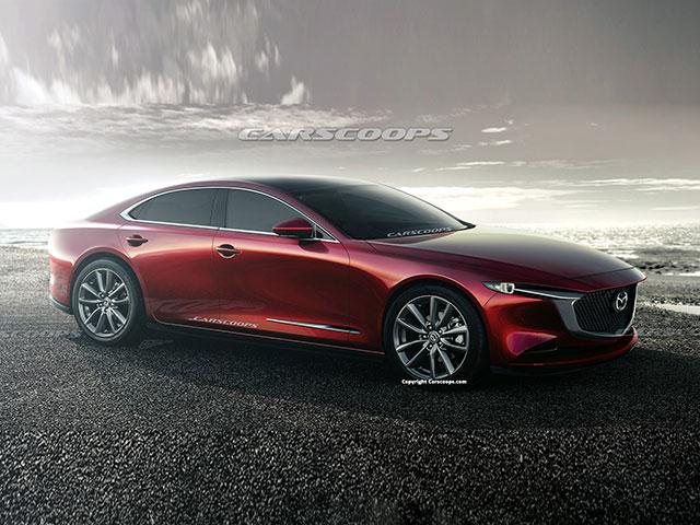"""Đây là thiết kế Mazda6 thế hệ mới, xe sang cũng phải """"e dè"""""""