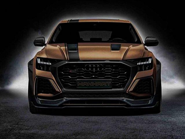 """Audi RS Q8 hoá """"quái vật"""" với động cơ lên gần 900 mã lực"""