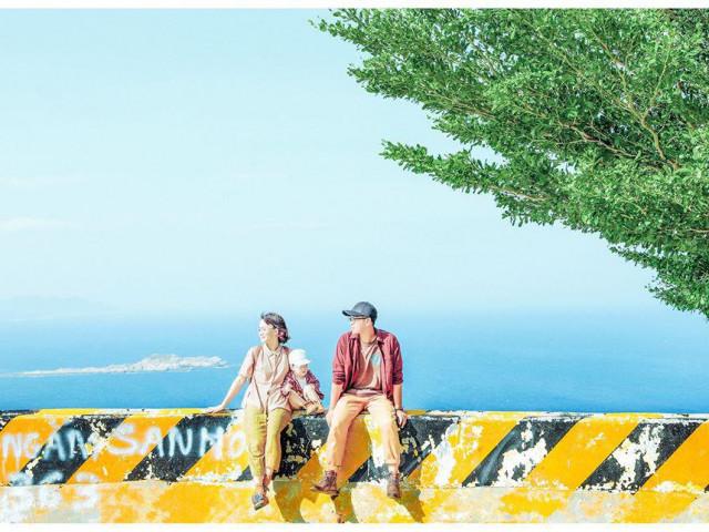 Bộ ảnh du lịch đẹp như tranh vẽ của gia đình trẻ thu hút dân mạng