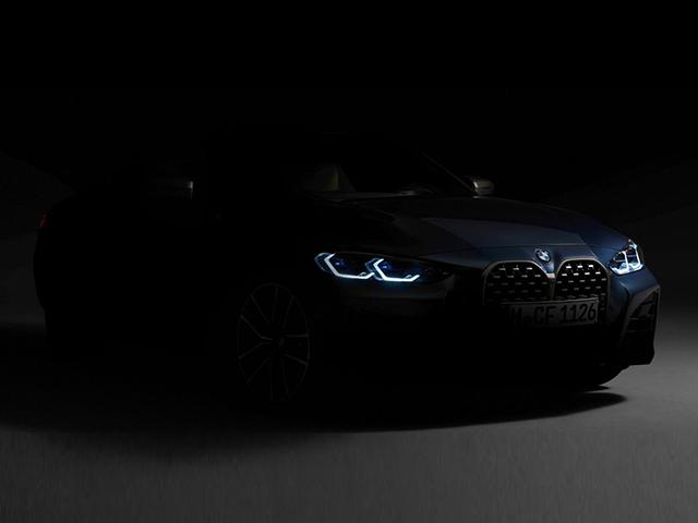 """BMW 4-Series Coupe 2021 với chiếc """"mũi to"""" chốt ngày ra mắt"""