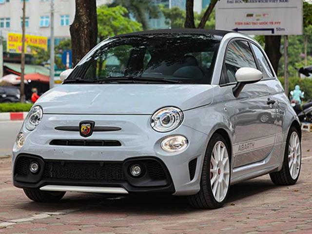 Chi tiết xe cỡ nhỏ, giá khủng Fiat Abarth 595 Esseesse tại Việt Nam