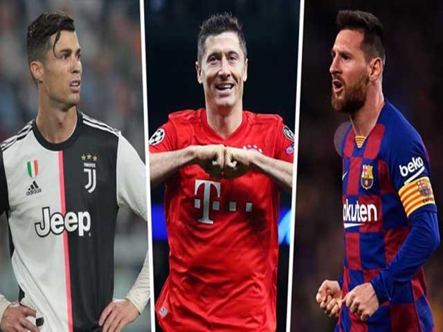 Đua Giày vàng châu Âu cực nóng: Lewandowski soán ngôi, Messi - Ronaldo hết cửa?