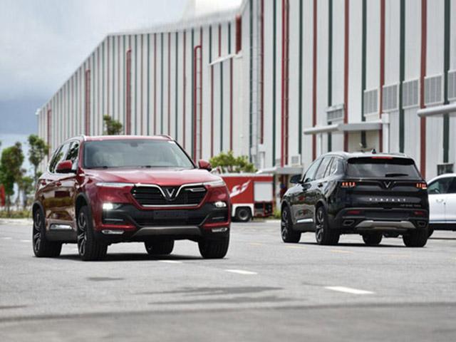 Giá xe ô tô VinFast Lux mới nhất tháng 6/2020