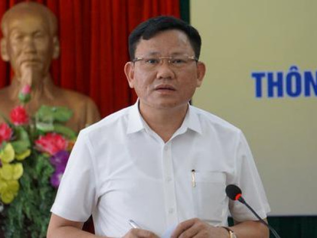 Trưởng ban Quản lý Khu kinh tế Nghi Sơn là tân Phó chủ tịch UBND tỉnh Thanh Hóa