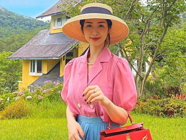 """Hòa Minzy lộ dấu vết đưa con đi du lịch cùng nhóm bạn thân qua chi tiết """"lạ"""""""