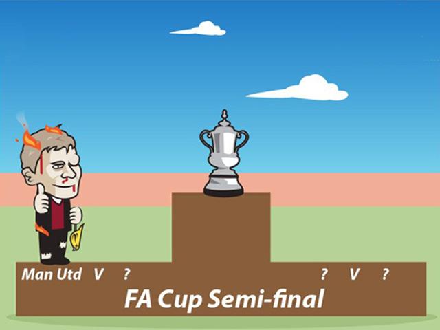 """Ảnh chế: MU thắng """"chật vật"""" mới có thể vào bán kết cúp FA"""