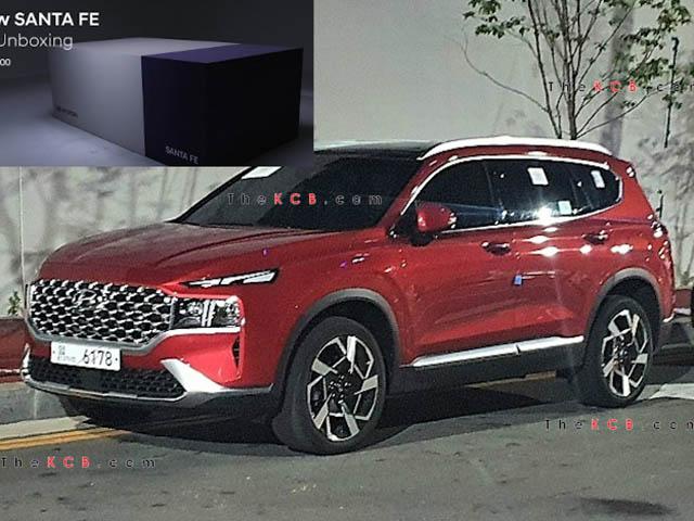 Hyundai SantaFe 2021 xuất hiện trên phố, đếm ngược giờ ra mắt toàn cầu
