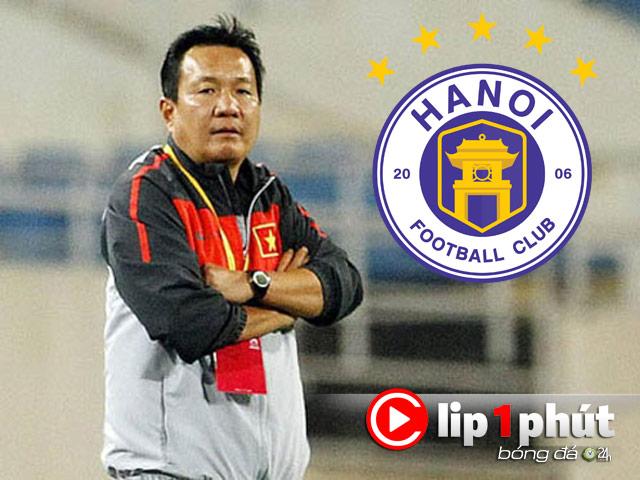 """Hà Nội FC có """"biến lớn"""", HLV Hoàng Văn Phúc ngồi ghế nóng đua vô địch (Clip 1 phút Bóng đá 24H)"""