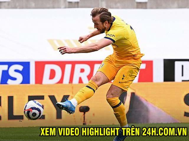 Video Newcastle - Tottenham: Kane lỡ hẹn hat-trick, báo hại phút 85