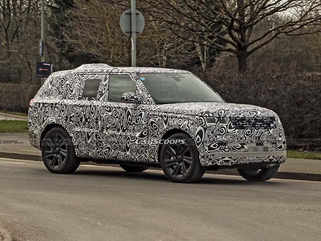 Range Rover hoàn toàn mới bị bắt gặp trong lớp ngụy trang