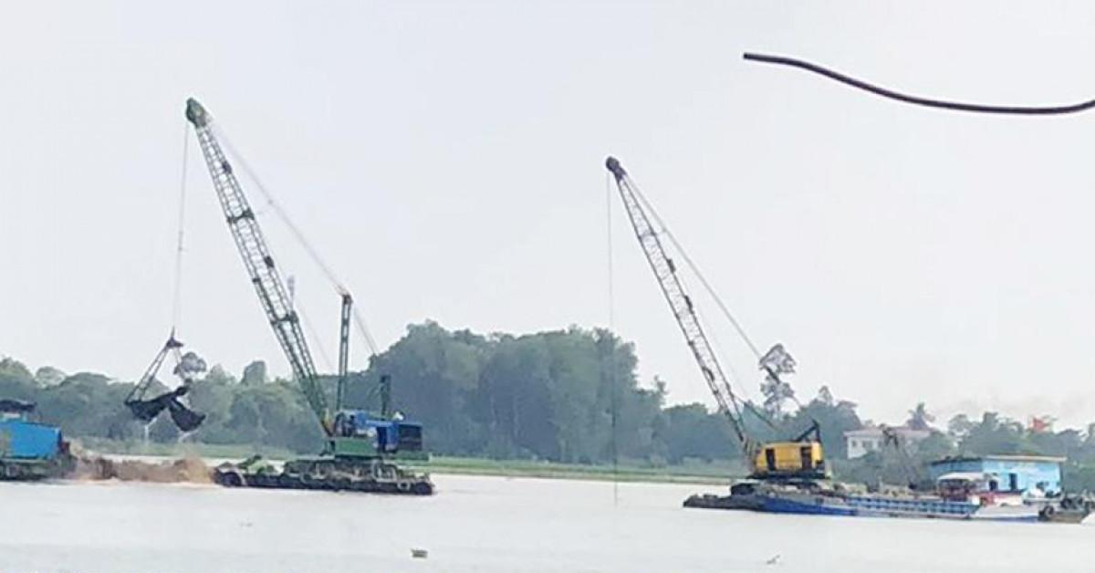 Mỏ cát sông Tiền được bán với giá gần 2.812 tỷ đồng: Giá khởi điểm 7,2 tỷ đồng