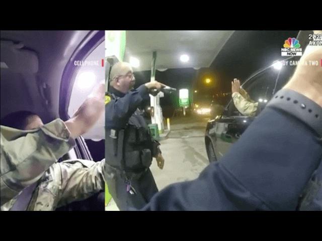 Cái kết của cảnh sát chĩa súng, xịt hơi cay vào sỹ quan quân đội Mỹ