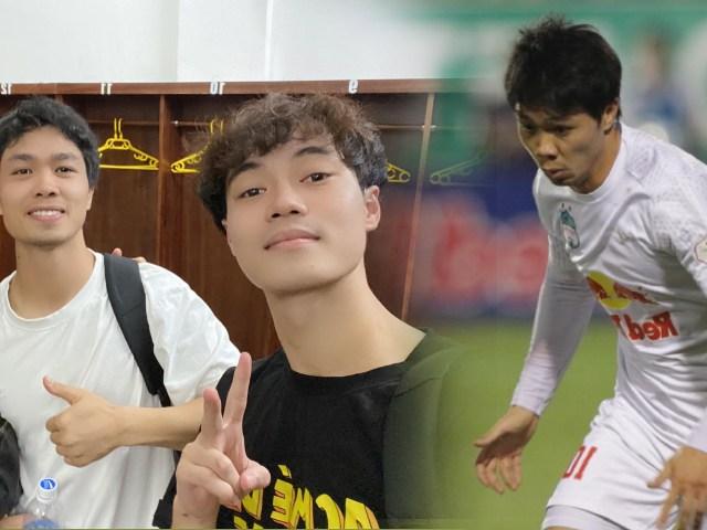 """HAGL hạ đẹp Hà Nội FC, Công Phượng bị Văn Toàn """"chọc"""" đá kiểu West Tham"""