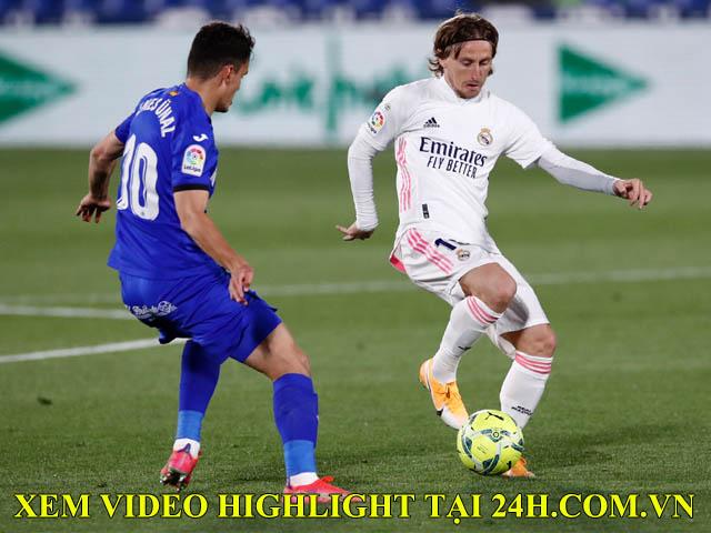 """Video Getafe - Real Madrid: Khung thành rung chuyển, """"người nhện"""" xuất hiện"""