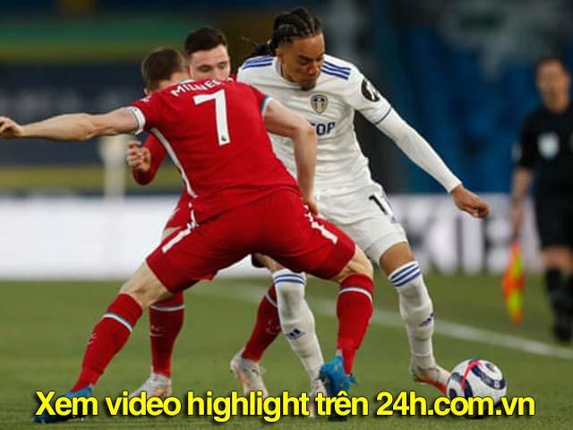 Trực tiếp bóng đá Leeds - Liverpool: Oxlade-Chamberlain bỏ lỡ cơ hội (Hết giờ)