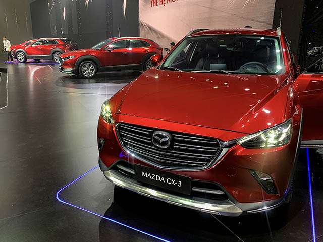 Mazda CX-3 và CX-30 ra mắt thị trường Việt, giá từ 629 và 839 triệu đồng