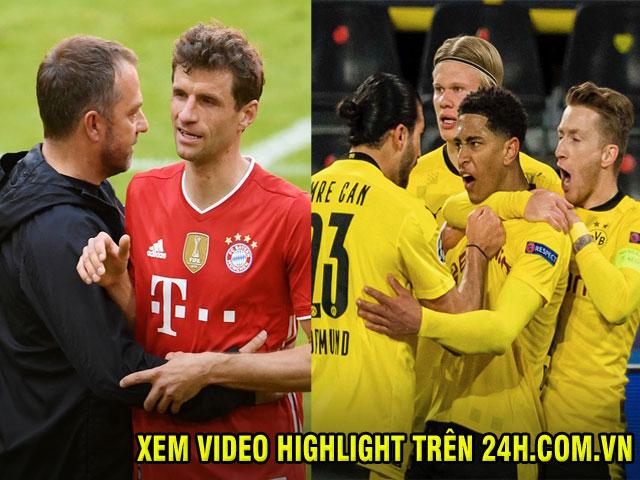 """Bayern Munich quyết đăng quang sớm, Dortmund """"đại chiến"""" vì top 4 Bundesliga"""
