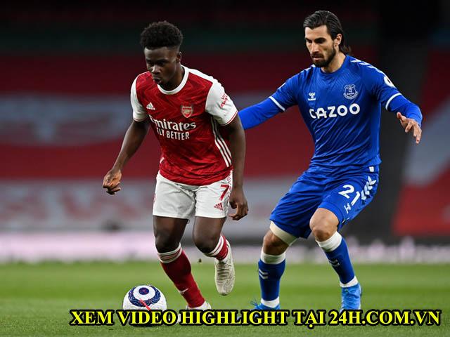 Video Arsenal - Everton: VAR từ chối penalty, tội đồ phản lưới