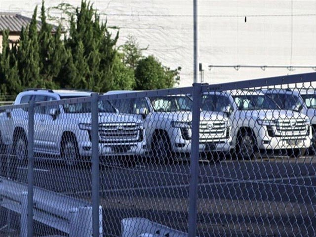 Lô xe Toyota Land Cruiser thế hệ mới lộ diện không che chắn