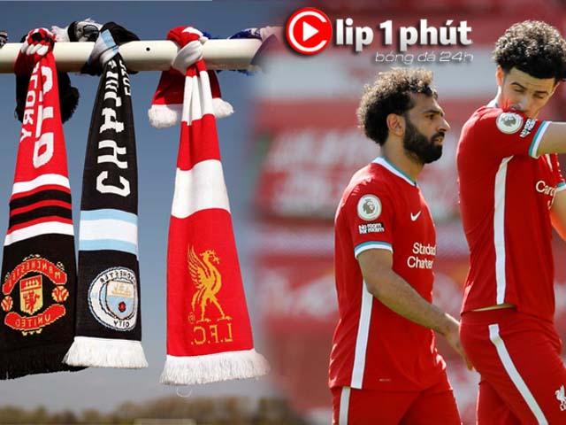 Big 6 Ngoại hạng Anh lo bị cấm chuyển nhượng, Liverpool nguy cơ làm khán giả ở cúp châu Âu (Clip 1 phút Bóng đá 24H)