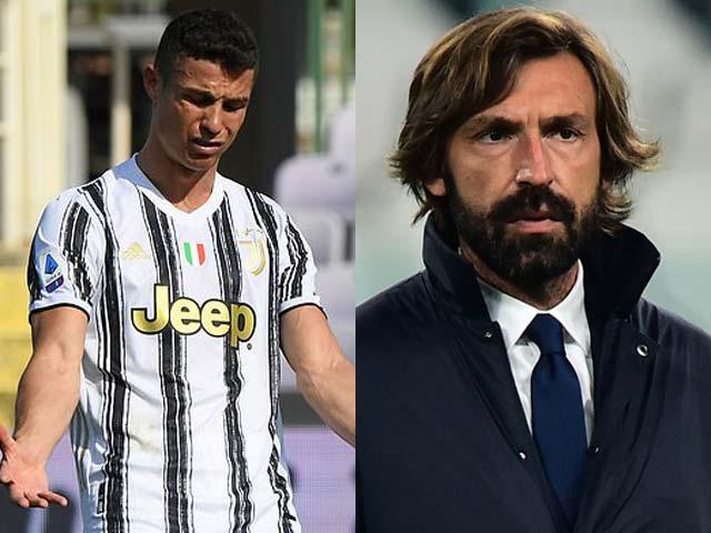 """Ronaldo bị ví như """"bóng ma"""", fan dọa giết Pirlo: Juventus tung """"tối hậu thư"""""""