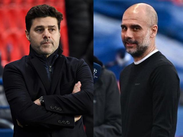 """Man City ngược dòng hạ PSG Cúp C1: Pep """"nổ"""" tưng bừng, Pochettino không phục"""